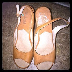 Micheal Kors Platform Sandals heels